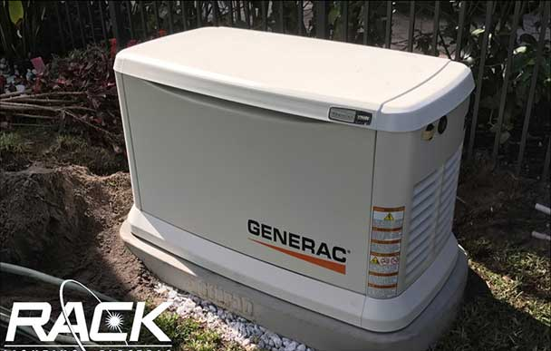 Rack Electric — Generac® Residential Standby Generators — Installation
